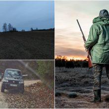 Devyniolika žmonių leidosi į medžioklę su varovais: laimikio – jokio, tik bauda