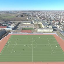 Garliavoje atsiras tarptautinius reikalavimus atitinkantis stadionas
