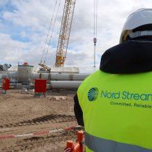 """JAV: """"Nord Stream 2"""" kelia pavojų Europos energetiniam saugumui"""