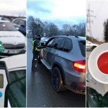 Kauno policijos reidas šventinį savaitgalį: patikrinti 4 tūkst. vairuotojų, iš jų 14 – neblaivūs