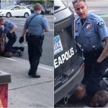 Buvęs policininkas D. Chauvinas pripažintas kaltu dėl G. Floydo nužudymo
