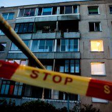 Vilniuje žuvo pro balkoną iškritusi policijos tyrėja