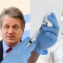 S. Čaplinskas apie gripą ir koronavirusą: kodėl šiais metais ypač svarbu pasiskiepyti?
