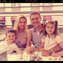 R. Javtokas su žmona jau sūpuoja ketvirtąjį vaikelį