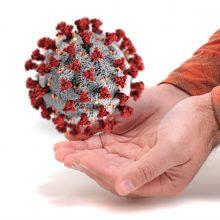 Britų sveikatos ministras: naujoji koronaviruso atmaina – nekontroliuojama