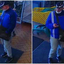 Prie parduotuvės paliko dviratį, o grįžus jo jau nerado (policija ieško šio vyro)