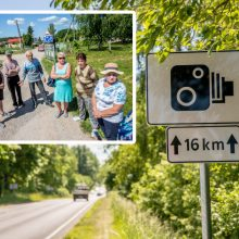 Greičio mėgėjų pažaboti nepavyko – Jaučakių kaimas tapo lenktynių trasa