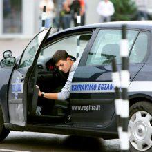 Protestuotojai didmiesčiuose reikalaus atnaujinti vairavimo mokymą ir egzaminus