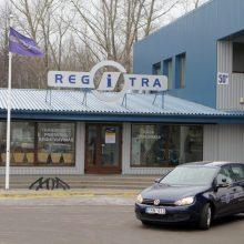 """""""Regitra"""" nuo pirmadienio atnaujina darbą padaliniuose"""