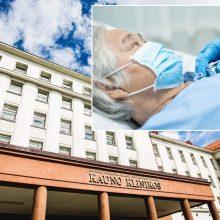 Koronavirusas Kauno klinikose: pacientams – vėl naujos žinios