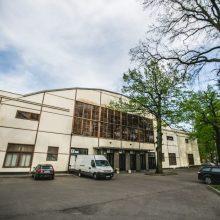 Kauno sporto halės rekonstrukcija sustabdyta