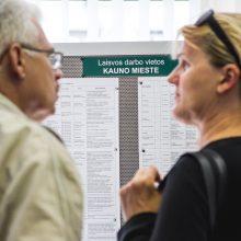 Darbo rinka atsigauna, bet skaičiai šokiruoja