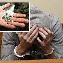 Kauno pareigūnams įkliuvo narkotikų platintojas