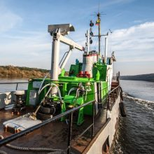 Milžiniškas šuolis: atkuriama krovininė upinė laivyba Nemunu