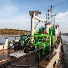 Laivyba Nemune bus patogesnė: projekto vertė – beveik 30 mln. eurų