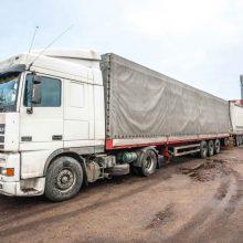 Ukrainiečio vairuotojo priekaištai Kauno įmonei: be poilsio ir algos dirbo 87 dienas
