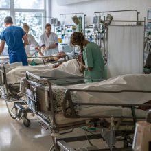 Į ligoninę Vilniuje pristatytas vyras su durtine žaizda