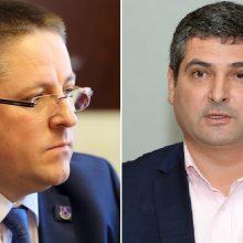 Požiūris: D.Jasaitis ir Š.Vaitkus negaili kritikos atstatydintam Aplinkos ministrui.