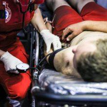 Kaune rastas jaunas vyras su pjautine žaizda