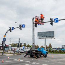 Eismo saugumas Kaune: kokie darbai atlikti?
