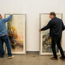 """Bienalėje """"Baltijos tiltai"""" – kitoks žvilgnis į akvarelę"""