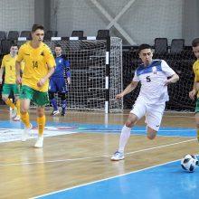 Salės futbolo rinktinė prieš pasaulio čempionatą: pamažu į priekį