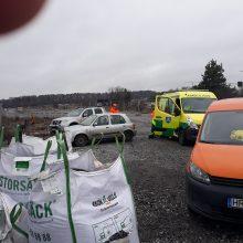 Švedijoje viaduką statantis lietuvis išgelbėjo merginą