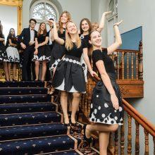Dainingi: renginio dalyviams labai patiko U.Karvelis gimnazijos vokalinio moksleivių ansamblio dainos <span style=color:red;>(vad. Rasa Kazakevičienė)</span>.