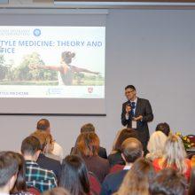 Konferencijoje – moksliškai patvirtinta gyvensenos medicinos nauda