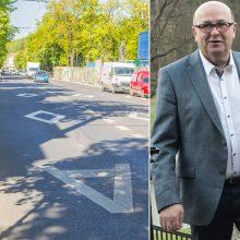 """Kauno meras siekia, kad motociklininkams būtų leista važiuoti """"A"""" juosta"""