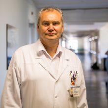 Nuoskauda: profesorius R.Kubilius savo darbo praktikoje nėra turėjęs taip žiauriai bendraamžių sužalotos jaunos pacientės.