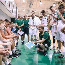Jaunieji krepšininkai tikslą žino, bet skambiais pažadais nesišvaisto