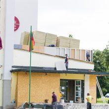 Kauno mokyklose pluša statybininkai: darbams skirta apie 7 mln. eurų