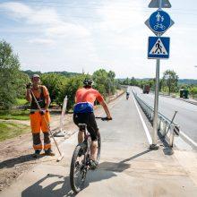Pakaunę apglėbs ir didysis dviračių žiedas