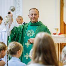 Kunigas V. Viktoravičius atsisveikino su klaipėdiečiais: jis tikras dvasios tėvas
