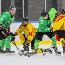 Kauniečiai ledo ritulininkai tolsta nuo Vilniaus komandų