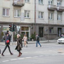 Kęstučio gatvėje – eksperimentinės pėsčiųjų perėjos