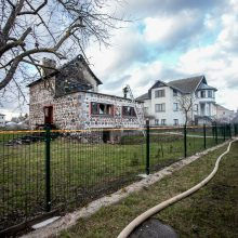 Ringauduose – sprogimas ir didžiulis gaisras: nukentėjo namo šeimininkas