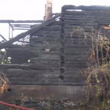 Siaubingas gaisras Jurbarko rajone: žuvo du žmonės