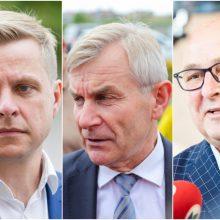 Reitingai: tirpsta Vilniaus ir Kauno merų bei Seimo pirmininko palankus vertinimas
