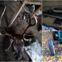 Jurbarko rajone aplinkosaugininkai sulaikė brakonierius – gresia solidi bauda