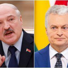 Prezidentas: Negalima pasitikėti oficialia Baltarusijos informacija dėl koronaviruso