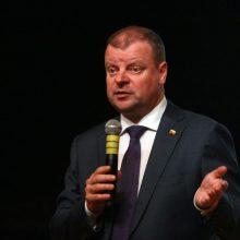 S. Skvernelis: nesikalbėdamos dėl Astravo, ankstesnės valdžios elgėsi aplaidžiai