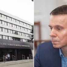 LSMU nedeklaravo duomenų apie buvusį Tarybos narį R. Kurlianskį