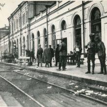 Kaip keitėsi Kauno geležinkelio stotis?