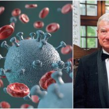 Infektologas: neaišku, ar nekils antroji koronaviruso banga (interviu)