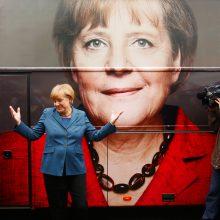 """A. Merkel: Vokietija privalo kovoti už """"savo įsitikinimus"""""""