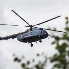 Lietuvos kariškių sraigtasparnius remontuos slovakų įmonė, susitarusi su Rusijos koncernu