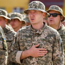 Apie misiją Ukrainoje: sunku ne mums, o tiems, kurie mūsų laukia