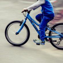 Panevėžio rajone lūžus dviračio rėmui susižalojo vaikas ir jo tėvas